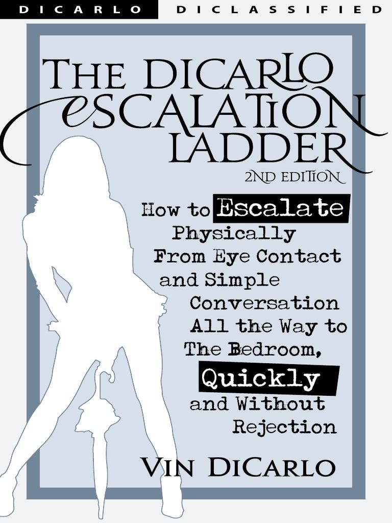 Kino escalation ladder 2nd edition vin dicarlo vagina sexual arousal