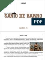 RELEASE GRUPO DE PÍFANO SANTO DE BARRO