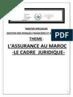L'ASSURANCE AU MAROC-LE CADRE JURIDIQUE-fina