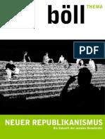 Neuer Republikanismus - Boell Stiftung.thema 2006