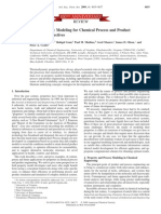 Thermodynamic Property Modeling for Chemical Process and Product Engineering Some Perspectives