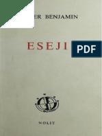 Walter Benjamin - Eseji