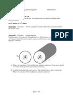 Problems on Electrostatics