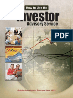 "How to Use the ""Investor Advisory Service"" to Find Great Stocks & Build a Portfolio"