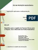 legislação aplicada a radioproteção1 - Copia