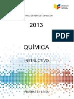 Instructivo Quimica Bach 2013