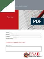 Examen de Finanzas