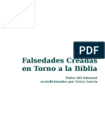 Falsedades de La Biblia