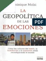 Geopolítica de las emociones