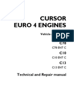 manual iveco fuel injection turbocharger
