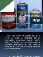 Productos de Limpieza Para El Pc