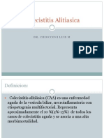 Colecistitis Alitiasica
