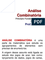 Analise Combinatoria 1