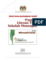 Ms Excel Modul 3