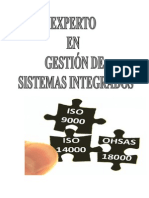 MANUAL GESTIÓN DE LA GESTIÓN DE SISTEMAS INTEGRADOS