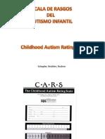Escala de Rasgos Del Autismo Infantil (CARS)