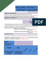2014 DCON Registration Form