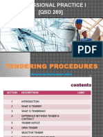 Chapter 7 - Tendering Procedures