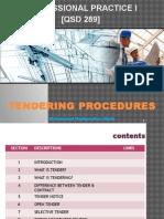 Chapter 7 - Tendering Procedures