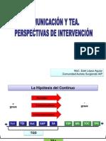 Comunicación y TEA. Perspectivas de Intervención
