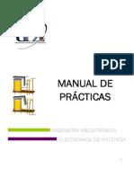 Manual de Practicas de Electronica de Potencia