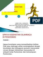 Kesehatan Olahraga Di Puskesmas-bandung 2012