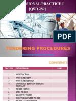Tendering Procedures