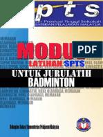 Latihan Badminton SPTS
