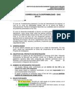 Proyecto - Sistema de Correo en Alta Disponibilidad - Dag