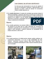 ESTRUCTURA GENERAL DEL ESTUDIO GEOTÉCNICO