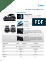 2013 Mazda3 Hatchback Car Specifications