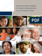 Burden of Health Disparities Final Report