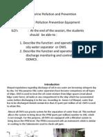 Oil Pollution Prevention Equipment