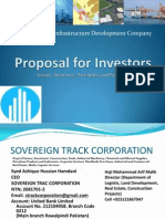 Proposal for Investors Vision, Structure, Strengths and Services