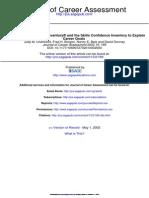 Journal of Career Assessment 2002 Chartrand 169 89