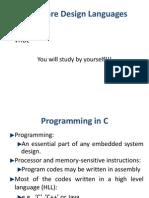 Embedded C Progmng