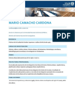 Mario Camacho Cardona