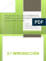Influencia de agua intersticial sobre macizos rocosos.pptx