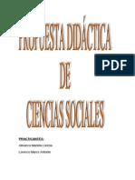 Propuesta Didactica Ciencias Sociales 2013 Mariela Almaza