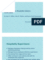 Supervision in the Hospitality Industry-Subroto Ghosh