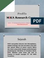 Profile MiKA