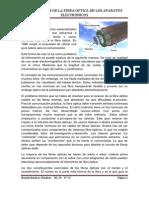 Uso y Origen de La Fibra Optica en Los Aparatos Electronicos