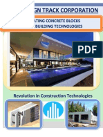 INSULATING CONCRETE FORMS                                                                   PREFAB BUILDING TECHNOLOGIES
