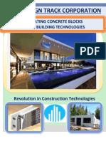 INSULATING CONCRETE FORMS                                                                   PREFAB BUILDING TECHNOLOGIES