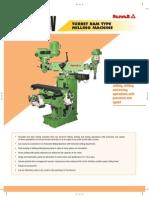 HMT milling machine TRM 3V
