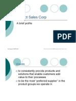 Project Sales Corp - Brief Profile