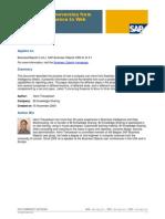 Managing Conversion Deski to Webi
