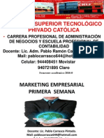 Catolica 1ra. Marketing Empresarial