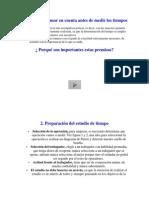 Estudio Del Trabajo-Beneficios y El Proceso de Realizar Un Estudio de Tiempo Parte 2