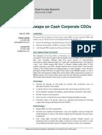 Total Return Swaps on Corp CDOs